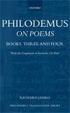 Philodemus On Poems Books 3–4